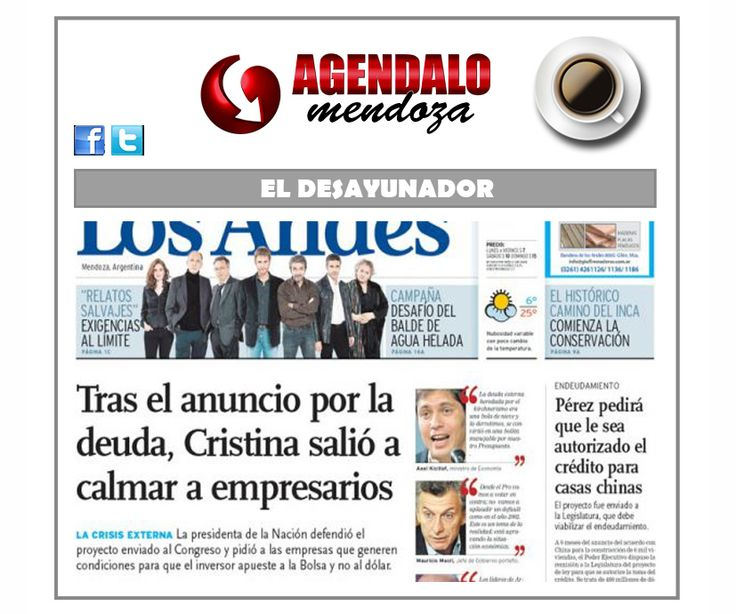 El Desayunador: el petróleo es nuestro y las casitas serán chinas http://www.agendalomza.com/index.php/component/k2/item/2392-las-tapas-21-08-14