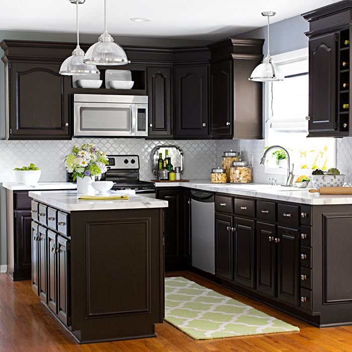 superb How To Transform Your Kitchen Cabinets #6: Transform Your Cabinets Use Rust-Oleum Cabinet Transformations (#340517) to  give existing