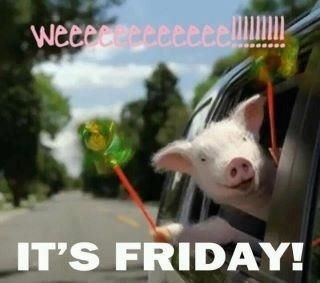 Who doesn't love this little piggy and his sentiments?! Hope everyone has a beautiful weekend! :)
