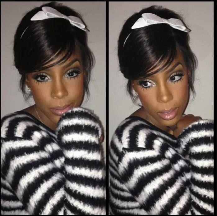 Kelly rowland makeup