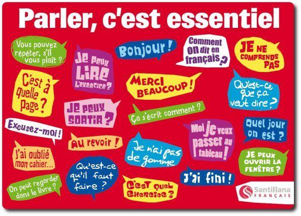 MON COIN DE FRANÇAIS: COMMUNIQUER EN CLASSE