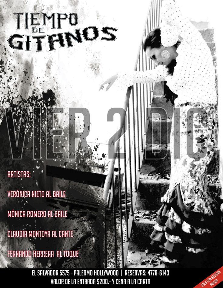 Esta noche, a las 21:30 hs, en Palermo te espera una gran Cena Show. Solo tenes que llamar para hacer tu reserva al 4776 6143
