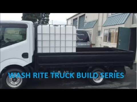 New House Wash Truck Build