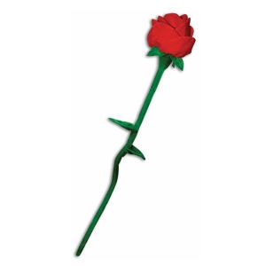 Giant Plush Rose