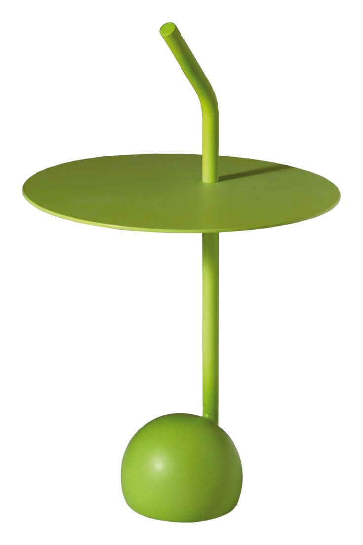 Peanut side table by Driade. Designer : Miki Astori. #homedecor #decoration #home #green #furniture #lime