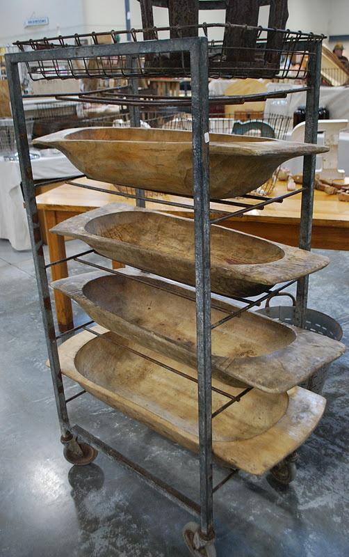 Primitive dough bowls