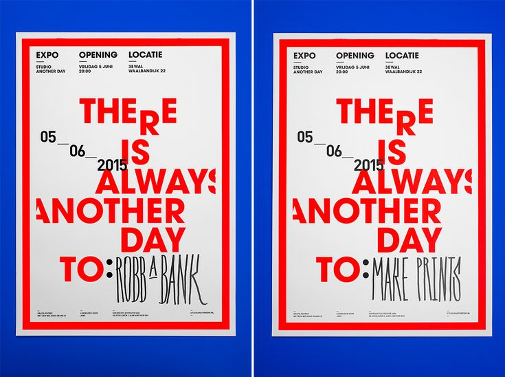 There is always another day to: on Behance