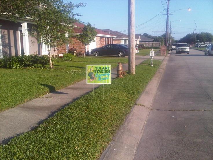 yard sign!!