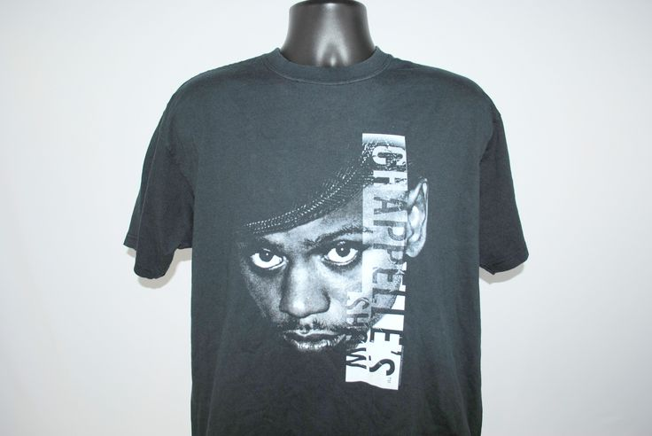 2004 Chappelle's Show Vintage Classic Comedy Central Dave Chappelle Groundbreaking Comedy TV Show Promo T-Shirt