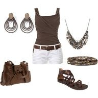 Winter Outfits 2012 | Winter 2011-2012 | Fashionista Trends: Summer Dresses, Summer Fashion, White Shorts, Summer Looks, Summer Style, Cute Outfits, Fashionista Trends, Cute Summer Outfits, Summer Clothing