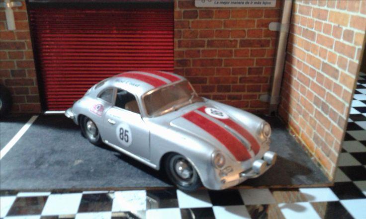 Personalización Porsche 356B, Rally Montecarlo