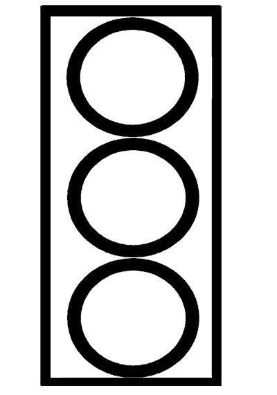 stoplicht vervoer thema knutselen thema verkeer thema