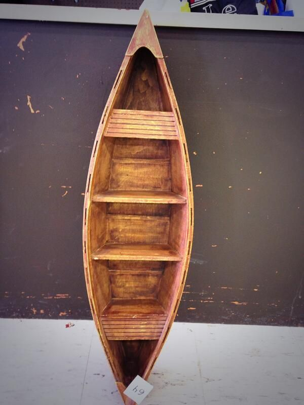 #TBT to this Canadian collector's item, a canoe shelf that was featured in our February auction in 2015! Don't forget to visit out website to check for upcoming auction dates! http://ccs4u.org/shopping/