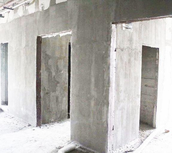 Expanding Foam Insulation Concrete Partition Wall