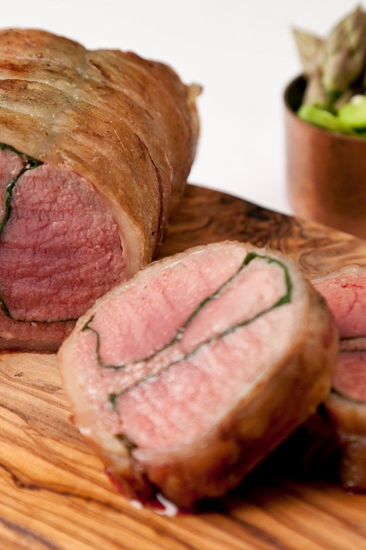 Galton Blackiston's magnificent roast saddle of lamb would make a spectacular centrepiece to a roast. Stuffed with black pudding, it's a car...