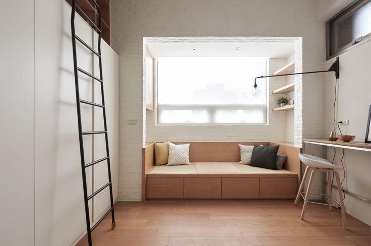Una casa de 22 m² elegante y funcional...¡Sí, es posible! #hogarhabitissimo #loft