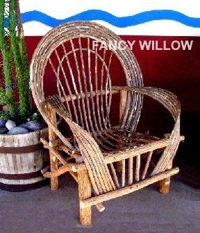 Tubac Patio Chair   FancyWillow.com   Colorado River Willow Furniture U2013  Outdoor Furniture,