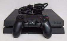 (RI3) Sony PlayStation 4 - 500 GB Black Console - FREE SHIPPING - (A)