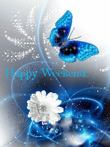 Happy Weekend cute animated friend weekend friday sunday saturday greeting weekend greeting