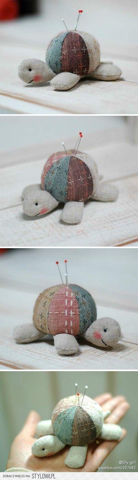 żółwik na szpileczki
