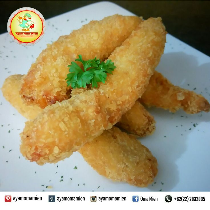Chicken Fingers, Price: Rp.15.000/portion