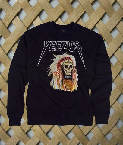 Yeezus t shirt yeezus indian skeleton yeezus tour tshirt kanye west only 14.9$ rate shipping 9.9$ secured payment using paypal www.payunan.com