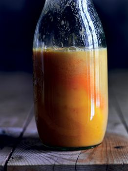Spicy appelsinjuice