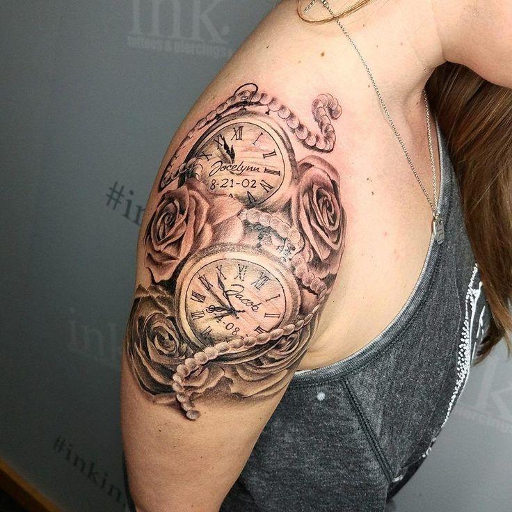 #Tattoos für Frauen