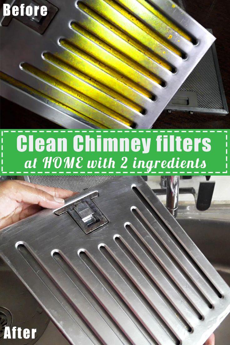 Clean Kitchen Chimney Filters At Home Kitchen Chimney Clean Kitchen Chimney Cleaning
