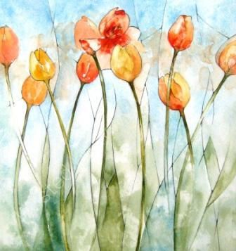 Tulips by Tracey Waghorn