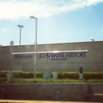 John Wayne Airport, Orange County California www.thebrighterwriter.blogspot.com