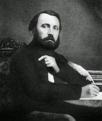 Pierre Athanase Larousse (October 23, 1817 – January 3, 1875) - French grammarian, lexicographer and encyclopaedist. He published many of the outstanding educational and reference works of 19th-century France, including the 15 volume Grand dictionnaire universel du XIXe siècle. The dictionary was finished (15 volumes, 1866–76; supplements 1878 and 1890), by Larousse's nephew Jules Hollier in 1876, after Larousse's death (in Paris in 1875) from a stroke caused by exhaustion.