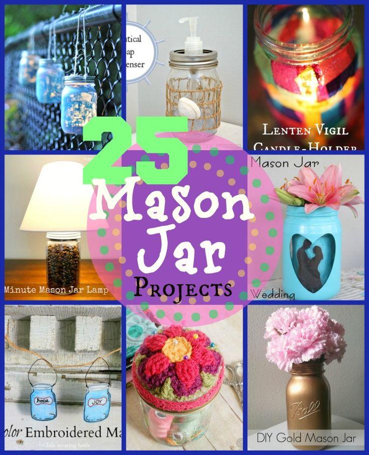 25 Creative Mason Jar Projects