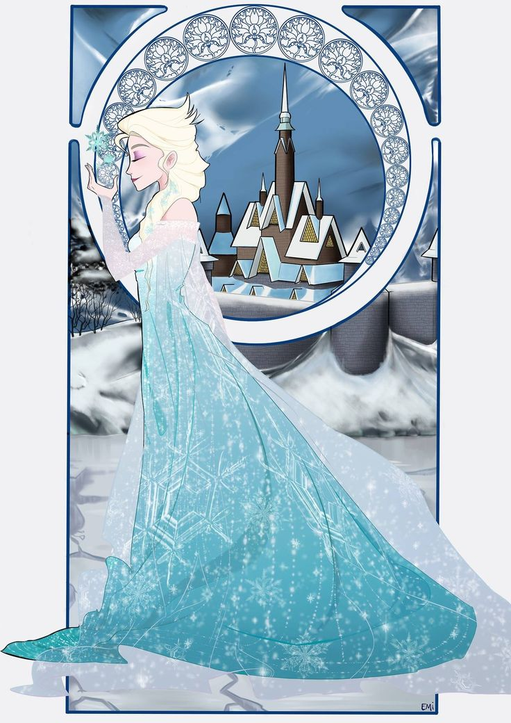 La reine des neiges fan art de emy http emyartist - Reine des neiges elsa ...