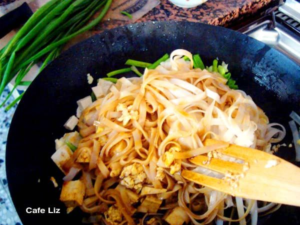 When I discovered the Thai House's recipe for pad thai, I felt like I was discovering the dish anew -- with a sauce of only soy sauce and sugar, this recipe was amazingly simple, produced way bette...
