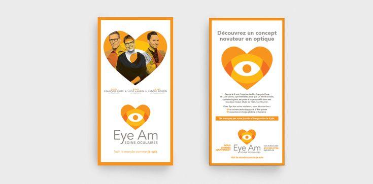 Eye Am / Feuillet publicitaire / Beez Créativité Média