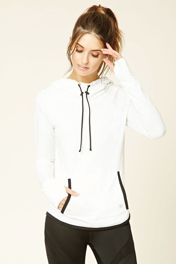 FOREVER 21 Active Hooded Pullover: Shop @ FitnessApparelExpress.com