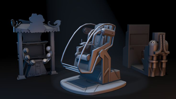 ArtStation - Arcade machines (x16), Daniil Savelyev