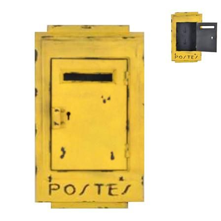 Sphere Inter yellow post box Ma-deco-interieure.fr