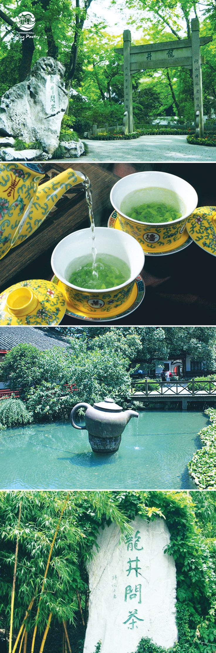 Dragon Well (Longjing) has a long history in China and is an inseparate part of Hangzhou's traditional tea culture.