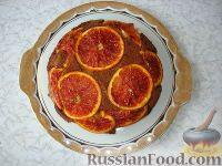 Фото к рецепту: Кофейно-апельсиновый пирог