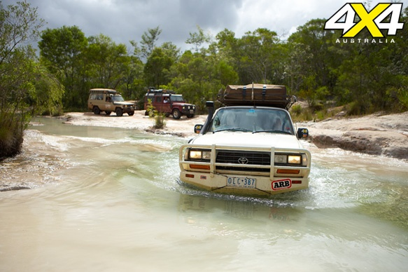 Cape York -- Nestled in the northernmost reaches of Queensland, Cape York Peninsula has lush scenery and refreshing water crossings begging to be explored.