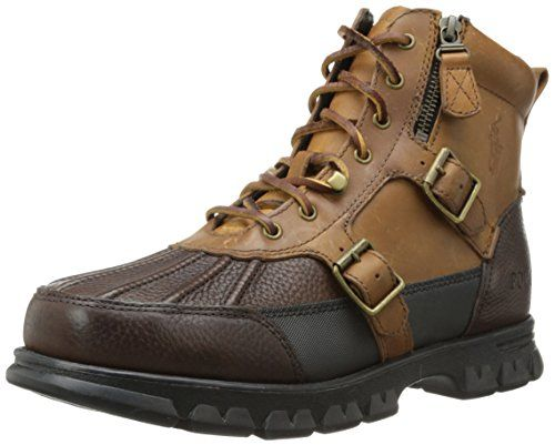 Polo Ralph Lauren Men's Demond Boot,Briarwood/Tan,11.5 D US. 11.5 D(M) US.  Classic and authentic, Polo is the foundation of the world of Ralph Lauren  ...