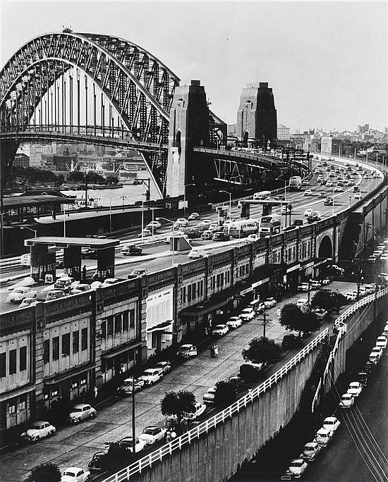 Wolfgang Sievers - Sydney Harbour Bridge from the North 1961