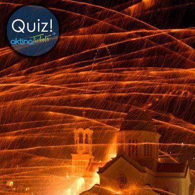 ✦Να και ένα επίκαιρο quiz ….!!!! Περιμένουμε να μας πείτε ποιο είναι το έθιμο της φωτογραφίας μας και σε ποιο μέρος τηρείτε,το βράδυ της Ανάστασης ????  Περιμένουμε της απαντήσεις σας !!!! — μαζί με Giwrgos Brasileiro.