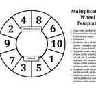 Multiplication Wheel Template makes for a great Math Center or class practice to improve the automaticity needed when it comes to the basic facts o...