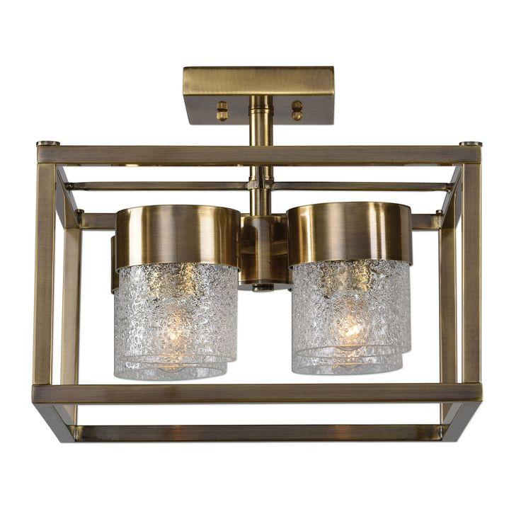 Marinot 4-Light Semi Flush Lighting Fixture by Uttermost