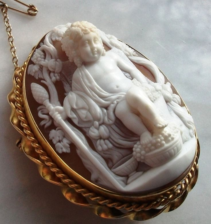 Beauty Bling Jewelry — Antique Cameos: old fashion love