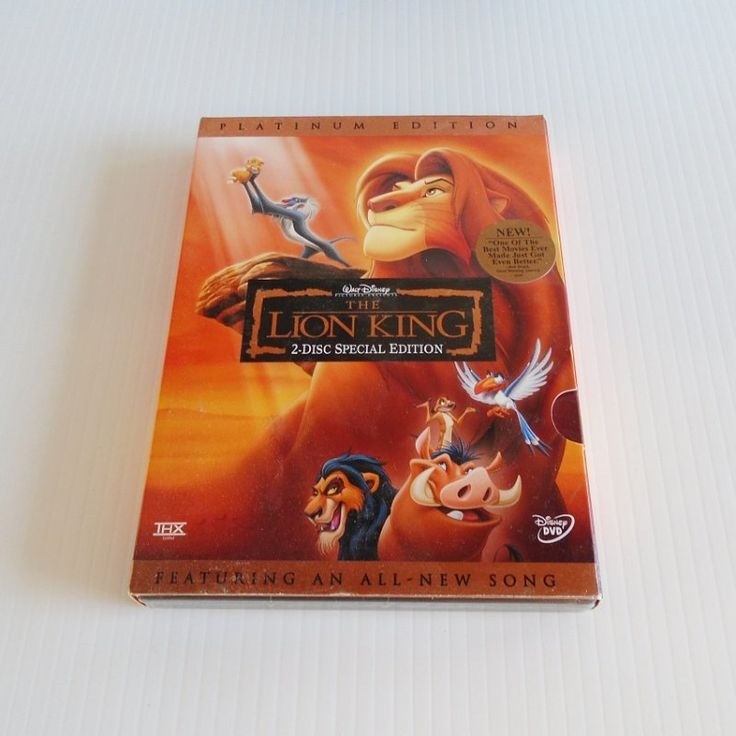 kenoticket.net has Walt Disney's Lion King. 2 DVD Platinum Edition. New and unopened. 1300 additional items also.