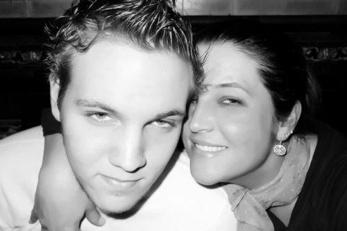 Elvis' grandson Ben Keough & his mom, Lisa Marie Presley